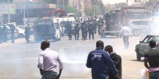 """مواجهات سابقة بين قوات الأمن الموريتانية ونشطاء حركة """"إيرا"""""""