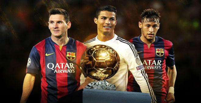 الفيفا تعلن عن ثلاثي الكرة الذهبية لعام 2015