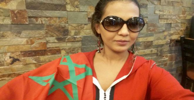 بالفيديو..الفنانة المغربية نهاد أبرودي تحتفي بذكري المسيرة الخضراء