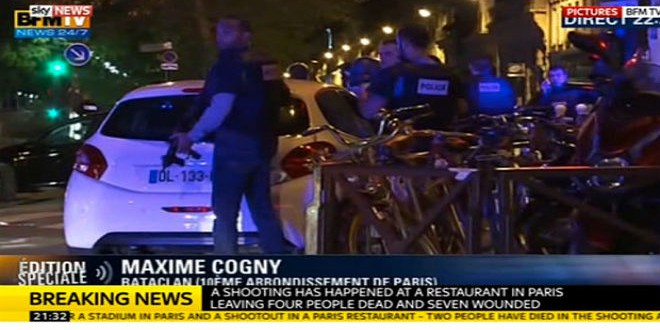60 قتيلا وعشرات الرهائن في عمليات متفرقة بباريس