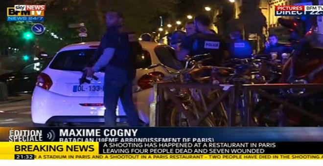 عاجل..18 قتيل في عمليات إطلاق نار بباريس