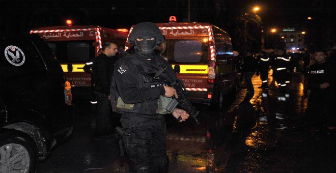 ارتفاع حصيلة انفجار تونس إلى 13 قتيلا و20 مصابا