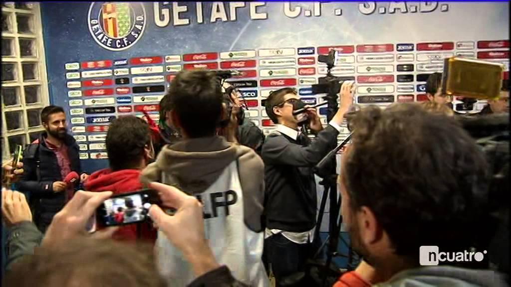 مضحك جدا.. شاهد ماذا فعل لاعبو برشلونة بلاعب خيتافي