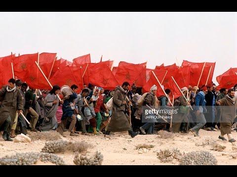 مشاهد نادرة من المسيرة الخضراء