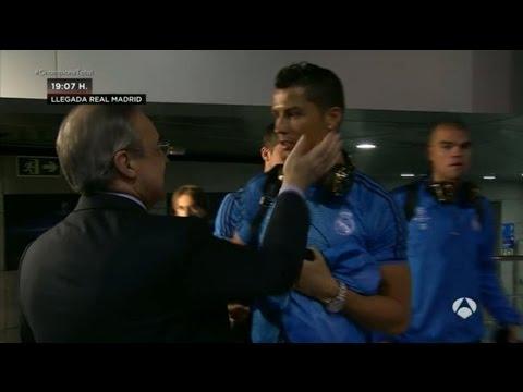 بيريز يهدد رونالدو بالطرد من ريال مدريد  !