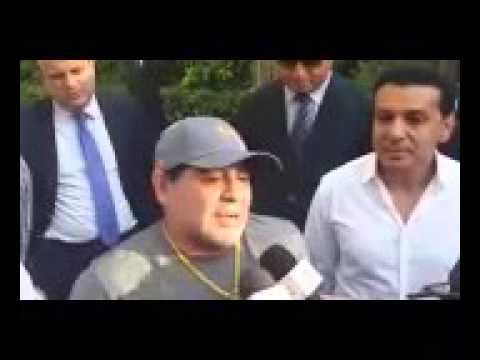 بالفيديو: مارادونا معجب بمراكش ومتابع للكرة المغربية