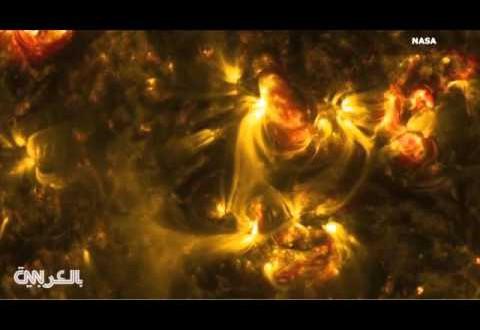 ناسا تنشر مقاطع فيديو عالية الدقة للشمس