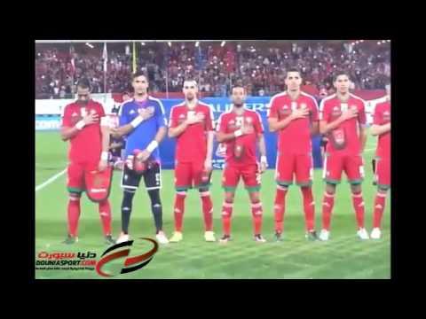 النشيد الوطني يهز ملعب أكادير