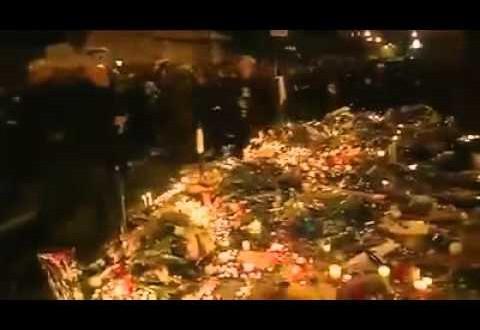 جانب من الفوضى التي شهدتها ساحة الجمهورية وسط باريس
