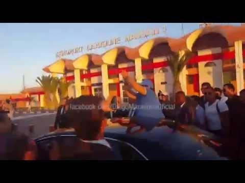 قناة مارادونا تنشر زيارته للمغرب
