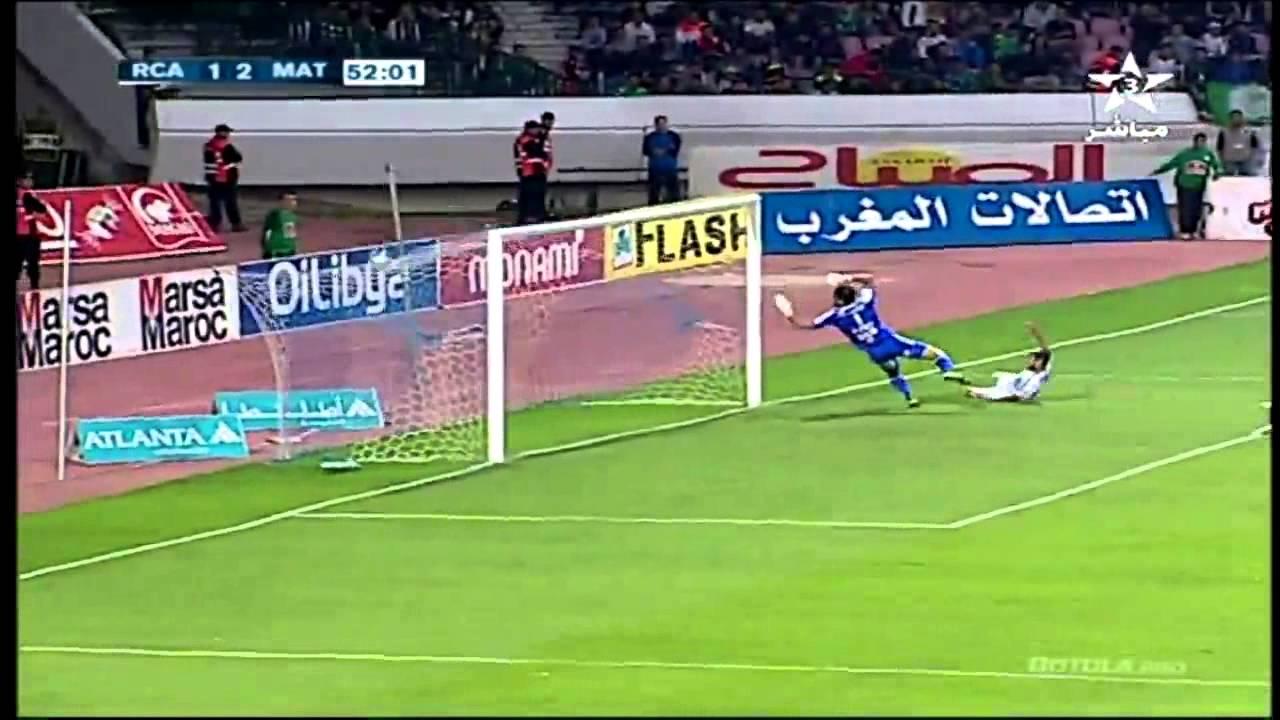 أهداف مباراة المغرب التطواني والرجاء