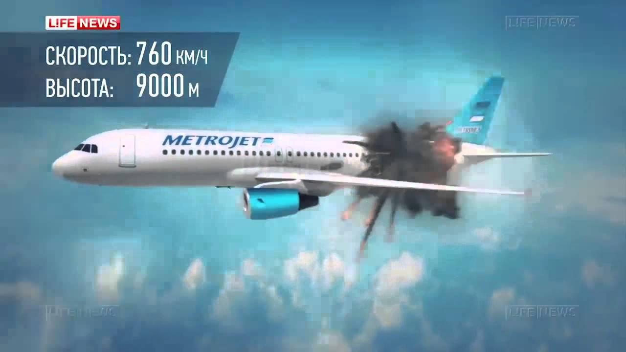 فيديو..هكذا سقطت الطائرة الروسية في سيناء