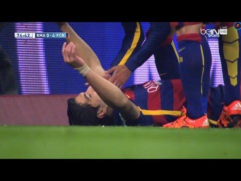 سواريز يسجل رابع هدف لبرشلونة