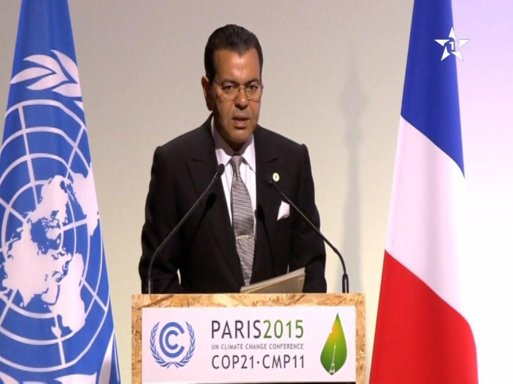 الأمير مولاي رشيد يلقي خطاب الملك في باريس