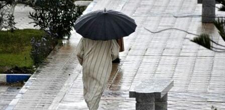 إحذروا..أمطار عاصفية طوال اليوم بهذه المناطق