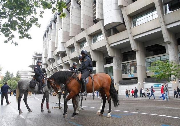 إسبانيا تضاعف الإجراءات الأمنية لتأمين مباراة