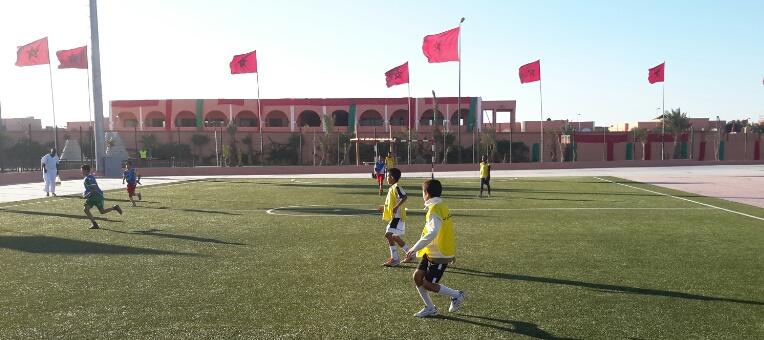 ''القرية الرياضية''..هنا تبرز طاقات رياضية جديدة من عاصمة الصحراء