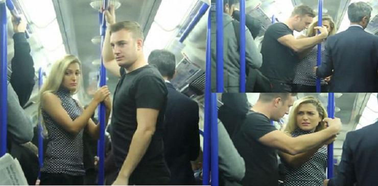 شاهد: كيف تصرف راكب عندما شاهد امرأة تعرضت للتحرش في حافلة بـ لندن