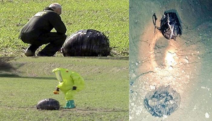 فيديو: سقوط جسم غريب من الفضاء يثير رعب قرية إسبانية