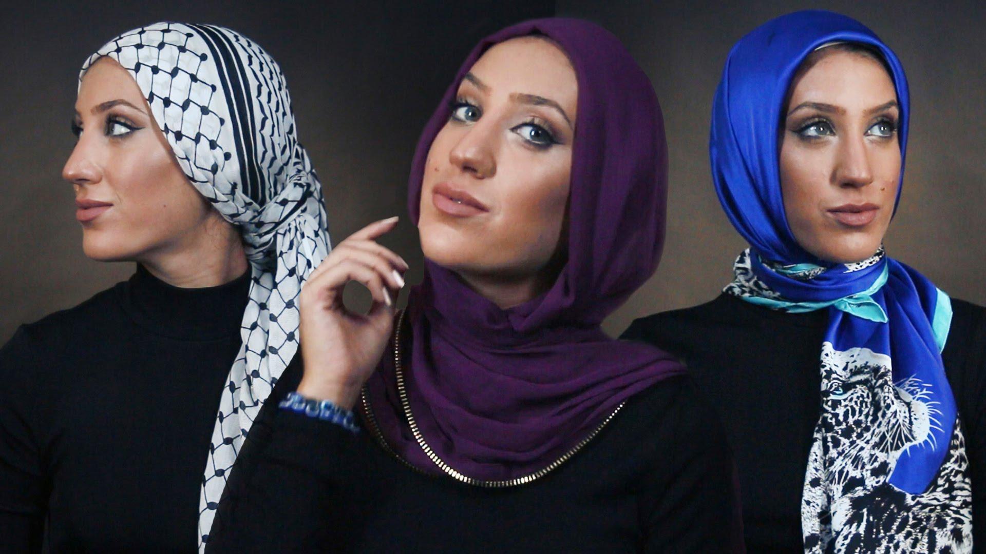 أحدث 7 لفات الحجاب في 2016