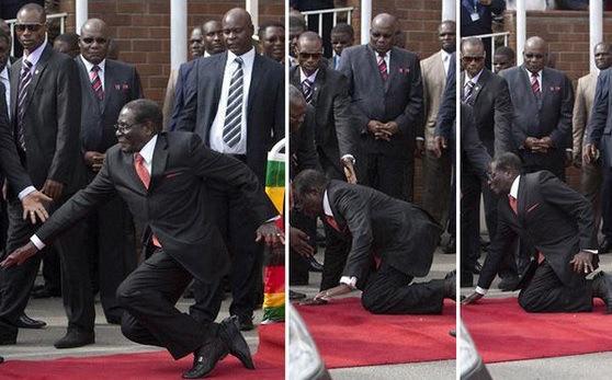 فيديو : رئيس زيمبابوي