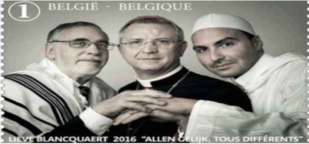 إمام مغربي على صدر طابع بريدي ببلجيكا.. وهذه هي الأسباب