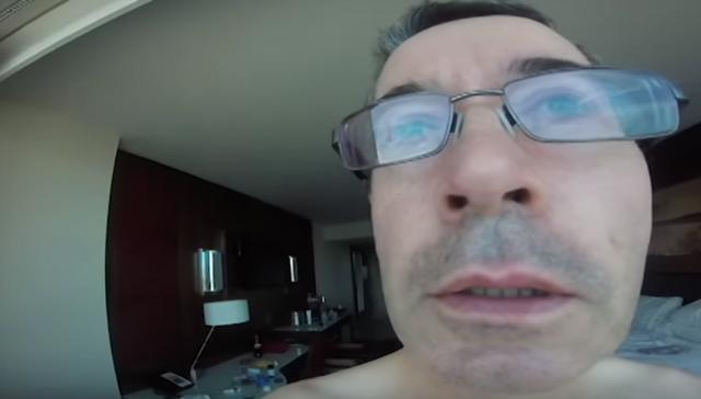 رجل يصور عطلته ليكتشف في الأخير أن الكاميرا بوضع
