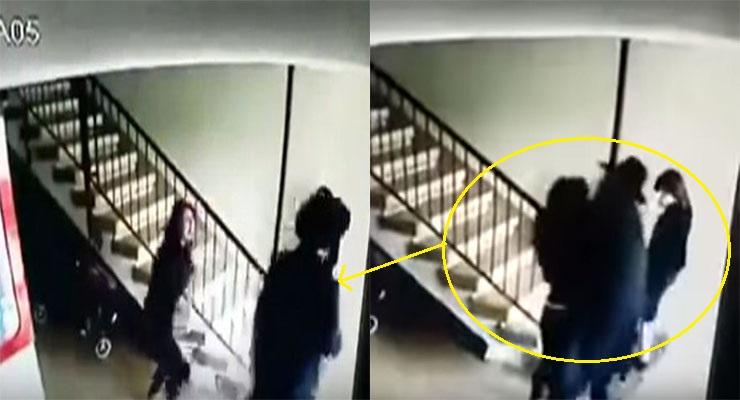 فيديو: رجل دين يهودي يعتدي جنسياً على فتاة صغيرة أمام والدتها