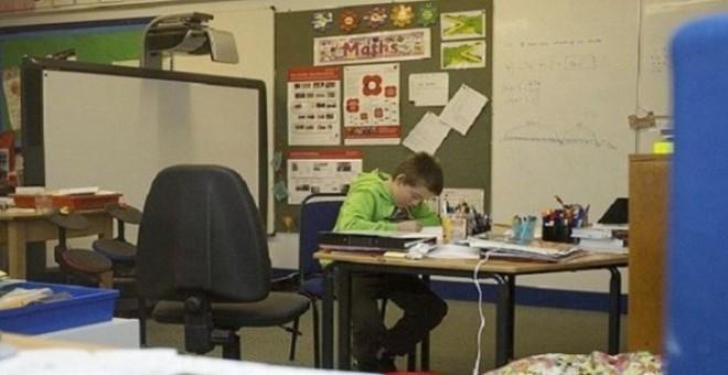 مدرسة تفتح أبوابها من أجل تلميذ واحد