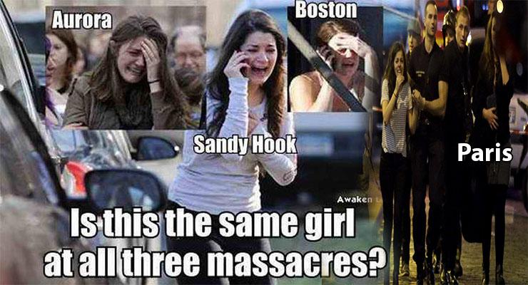 هذه هي حقيقة الفتاة التي يُزْعَم أنها نفسها في جميع العمليات الارهابية عبر العالم