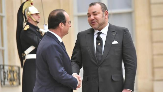 """هولاند يشكر الملك محمد السادس على المساهمة الفعالة في تفكيك خلية """"أباعوض"""""""