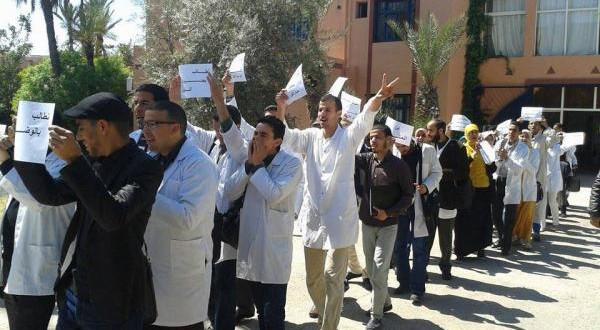 آلاف الأساتذة يزحفون في مسيرة وطنية صوب الرباط!