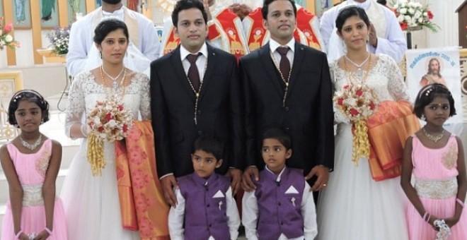 زفاف هندي جميع مدعوه