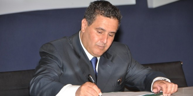 السيد عزيز اخنوش، وزير الفلاحة والصيد البحري