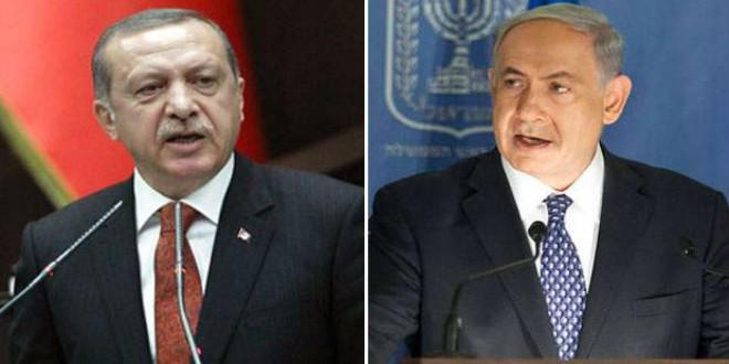 رجب طيب أردوغان وبنيامين نتانياهو