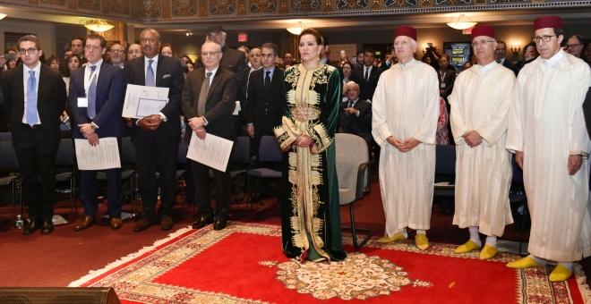 الملك: المغفور له محمد الخامس ملهم كل الشعوب التواقة للحرية