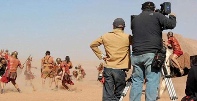 المغرب يكرس مكانته كوجهة لتصوير الأفلام الأجنبية في ورزازات