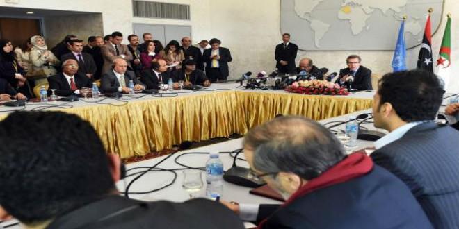 اجتماع سابق للفرقاء الليبيين بالجزائر برعاية الأمم المتحدة