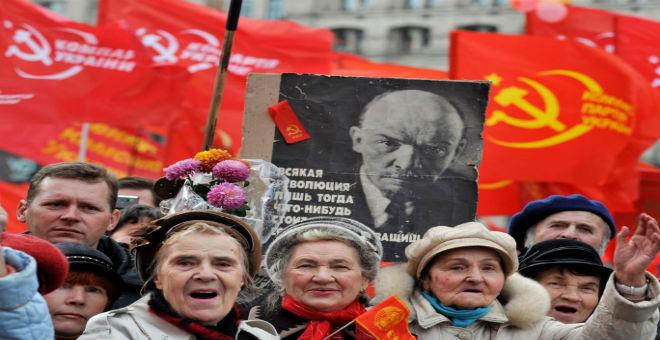 أوكرانيا تقوم بحظر الحزب الشيوعي
