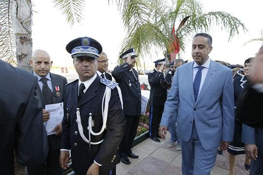 ضابط شرطة ضحى بحياته فمنحه الحموشي ترقية استثنائية
