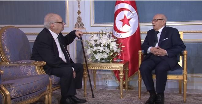 تونس: السبسي يلتقي هشام جعيط وخليفته على رأس