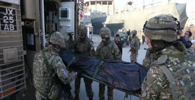 هجوم انتحاري لطالبان يستهدف السفارة الإسبانية في كابول
