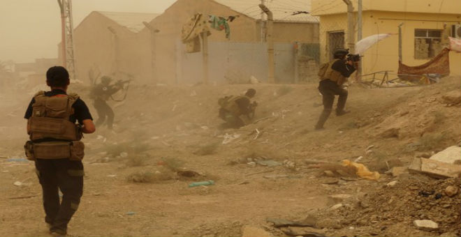 القوات العراقية تعلن تقدمها في معركة استعادة الرمادي