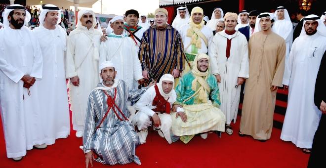 الملك يترأس حفل الافتتاح الرسمي للأسبوع الثقافي المغربي في الإمارات