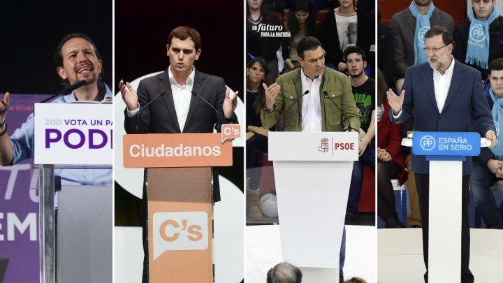 الإسبان يتوجهون لصناديق الاقتراع في انتخابات غير مسبوقة
