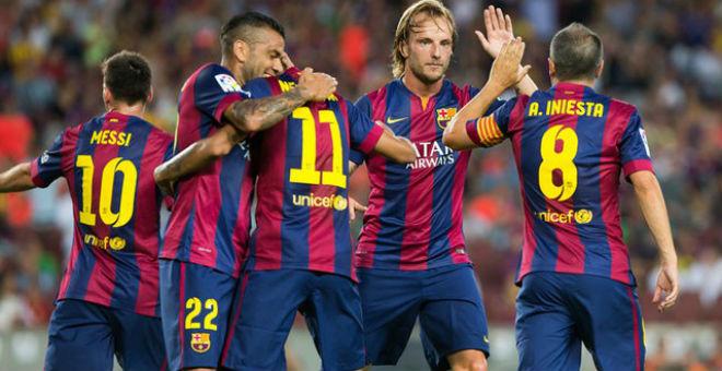 برشلونة يهزم بيلباو ويقترب من نصف نهائي الكأس
