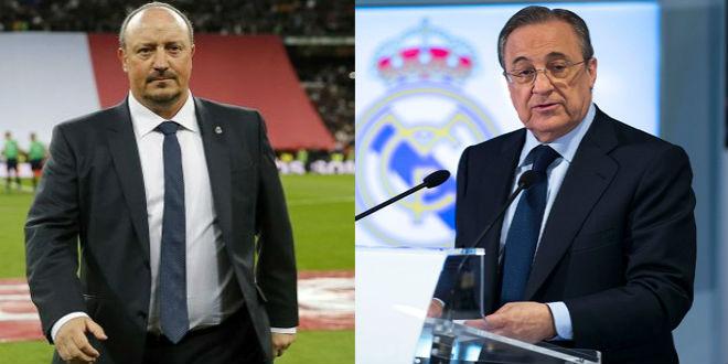 رسميا ريال مدريد يقيل بينيتز ويكلف زيدان