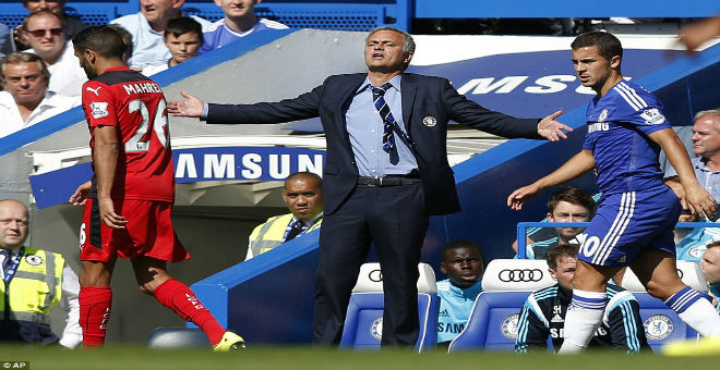 مورينيو يبحث عن الانطلاقة في الدوري أمام رفاق محرز