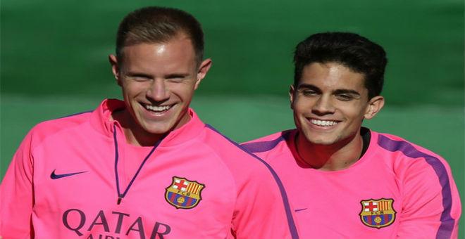 بارترا وتير شتيغن يريدان الرحيل عن برشلونة