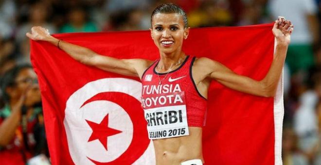 التونسية حبيبة الغربي أفضل رياضية عربية في 2015